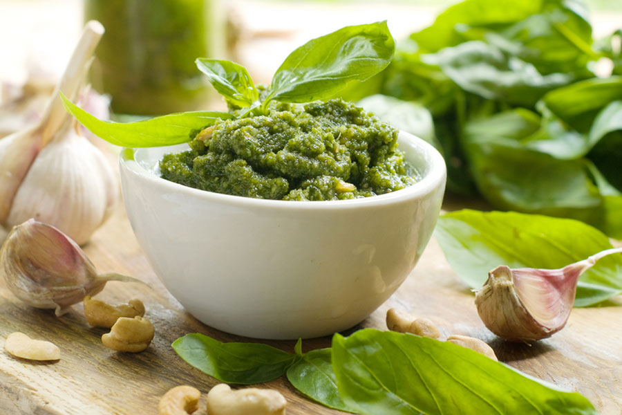 Basil Pesto Recipe by The Gardening Blog
