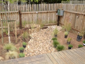 River bed feature