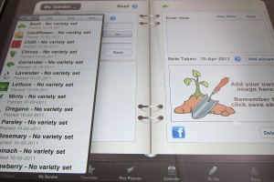 iPad Apps for Gardeners