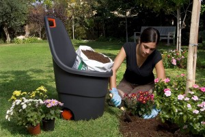 Easy-go gardening cart