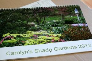 Carolyn's Shade Gardens Calendar